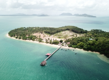Koh Por Island, Thailand - 70 Rai (112,000 sq metres) Unique Beach Land For Sale