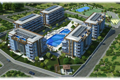 Eco Lifestyle Resort, Luxury Apartments - Alanya, Turkey